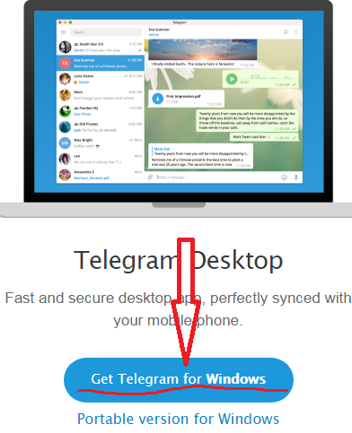 windows telegram